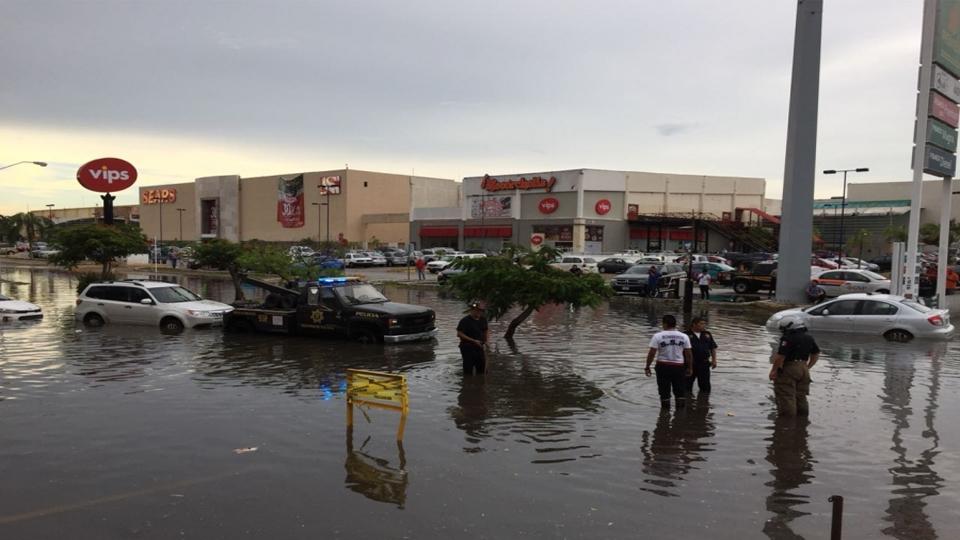 Mérida bajo el agua, inundaciones y afectaciones por fuertes lluvias