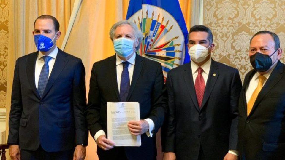 PAN-PRI-PRD denuncian ante la OEA intromisión del crimen en elecciones intermedias
